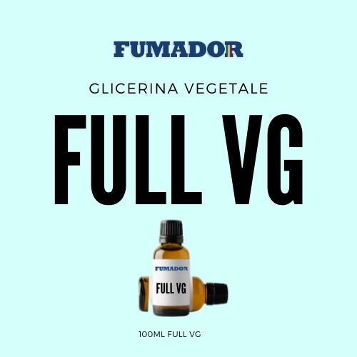 FUMADOR – GLICERINA VEGETALE – VG – 100ML - Liquidi